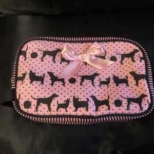 Pink Makeup / Toiletry Bag Medium Sized
